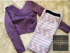 Designer Blouse Patterns, Fancy Blouse Designs, Myanmar Dress Design, Myanmar Traditional Dress, Stylish Blouse Design, Traditional Fashion, Colourful Outfits, Kebaya, Work Blouse
