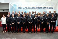 Ceremonia de entrega de condecoraciones a la Policía Local de Alcalá