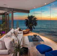 Interior with a view
