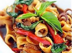 thai basil squid recipes dishmaps collins thai basil squid squid ...