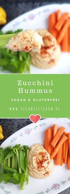 Rohkost taucht viel zu selten auf unserem Teller auf. Deswegen machen wir heute mal ein Zucchini-Hummus ohnne Kichererbsen, auf rein rohköstlicher Basis. Ein leckeres, frisches Rezept. Dazu vegan und glutenfrei.