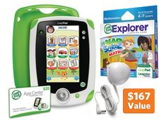 LeapPad1™ All-in-One Learning Pack--Really wish I had the money for this one this year; maybe I'd get my tablet back lol