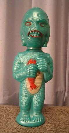 1960's Soaky Creature from the Black Lagoon by Treasures From Paul's Basement, via Flickr