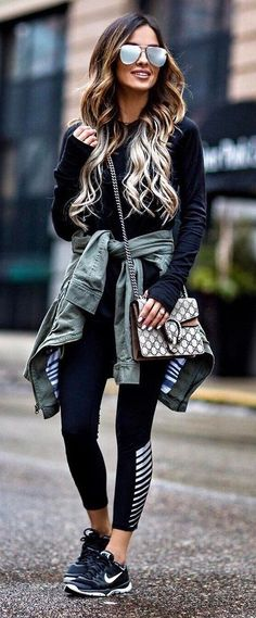 cool street style outfit idea
