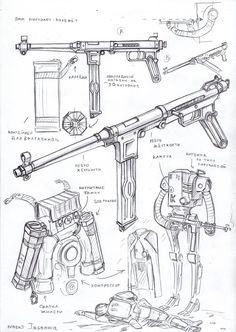 pnevmaton's weapon by TugoDoomER.deviantart.com on @DeviantArt
