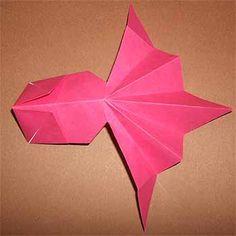 折り紙の簡単な金魚の折り方!夏にぴったりな立体的な作り方 | セツの折り紙処