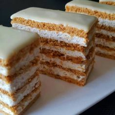 Sweets Recipes, Bread Recipes, Baking Recipes, Cake Recipes, Romanian Food, Vanilla Cake, Good Food, Food And Drink, Ice Cream