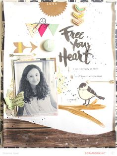 Free YOUR heart by ShannaNoel at @studio_calico