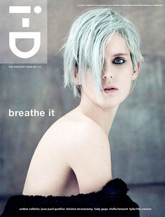 i-D: the hedonist issue 313 – breathe it | Magazine Cover: graphic design, typography, photography |