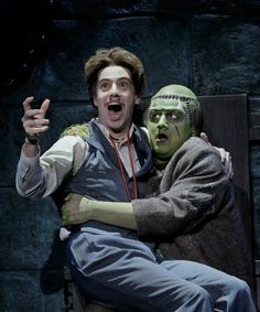 YAE Alumnus AJ Holmes starring in Young Frankenstein's national tour!
