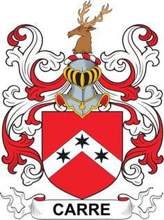 Carre Family Crest and Coat of Arms