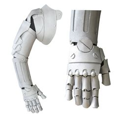 Fullmetal Alchemist cosplay prop Edward Elric. Steampunk arm brace  idea for U.S. Army Uniform   inspiration