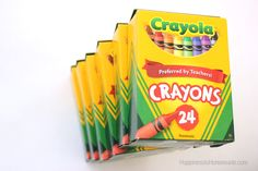 Back-to-School With Crayola {$25 VISA Giveaway} - Happiness is Homemade