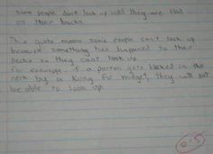 Awesomely Fun Incorrect Test Answers From Kids 9