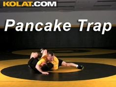 Pancake Trap KOLAT.COM Wrestling Techniques Moves Instruction