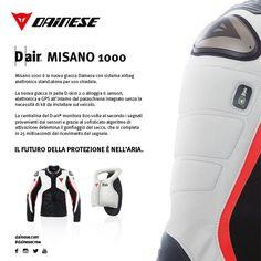 L'ultima grande innovazione di Dainese, la giacca con air bag stand-alone Misano 1000