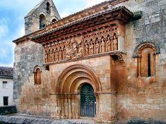 Iglesia de S Juan Bautista. Moarves de Ojeda. Palencia España.
