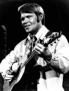 Music legend Glen Campbell takes the stage in his younger years