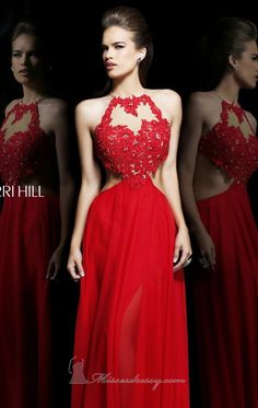Cutout Jewel Neck Gown By Sherri Hill. Shop Cutout Jewel Neck Gown by Sherri Hill at $0.00 cheap price,it is customized. Product model is [SHERRI HILL 21309] . Welcome to DOLCEPROMDRESS.COM always customer first.