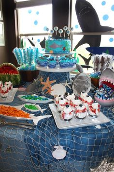 Hostess with the Mostess® - Grayson\'s Shark Party