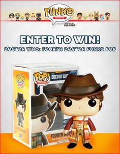 Introducing: Funko Fridays! A blogging prompt and website dedicated to all things Funko! Check out our first giveaway for a Doctor Who Fourth Doctor Funko Pop. Ends 10/16/15
