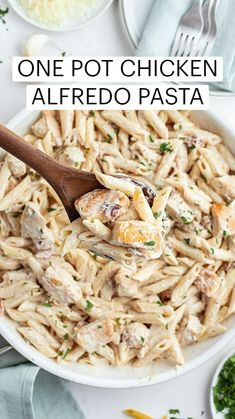 Yummy Pasta Recipes, Delicious Recipes, Cooking Recipes, Chicken Receipe, Chicken Pasta, Pasta Dishes, Food Dishes, Main Dishes, Easy Pressure Cooker Recipes