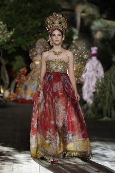 Dolce & Gabbana Alta Moda fw/15