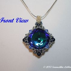 "Double sided pendant ""Lost Treasure""   JewelryLessons.com"