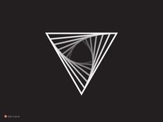 Triangle by George Bokhua #Design Popular #Dribbble #shots