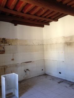 """Existing """"kitchen"""" - will become bedroom with ensuite bathroom"""