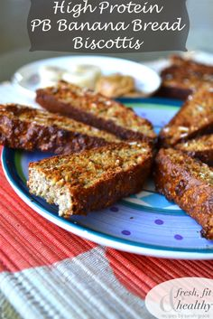 PB Banana Protein Biscottis | Fresh Fit N Healthy