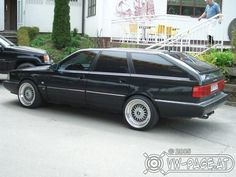 1989 Audi 100 avant - switched to this model - same chassis but all new inside and out - a new generation Audi - now a luxury car