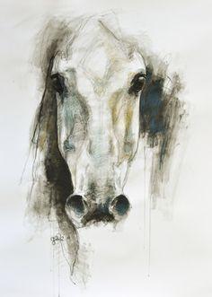 """Saatchi Online Artist Benedicte Gele; Drawing, """"Alerte VI"""" #art"""