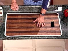How to Refinish a Butcher Block in 2019 For the Home Butcher block tables, Wood chopping ...
