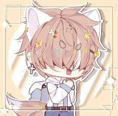 Chibi Girl Drawings, Cute Kawaii Drawings, Kawaii Art, Anime Kawaii, Anime Chibi, Cute Anime Character, Character Art, Cute Fox Drawing, Sad Art