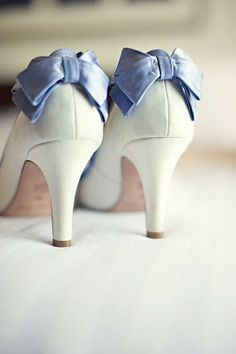 oh my goodness, imagine these with pink bows to match my pink sash! im in love