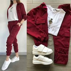 Image may contain: shoes Hijab Fashion, Teen Fashion, Korean Fashion, Fashion Dresses, Fashion Tips, Sporty Outfits, Stylish Outfits, Cool Outfits, Terno Casual