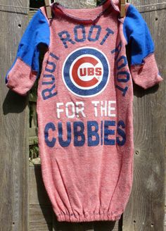 Chicago Cubs Infant Romper Jersey By Majestic Athletic Mlb Com
