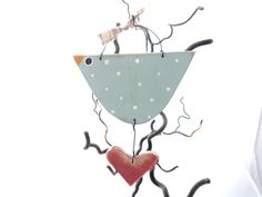 Country Chicken and Heart Rustic Kitchen decor by SuzanneLake, £7.50