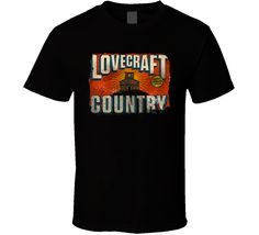 Lovecraft Country 2020 Top Tv Show T Shirt Top Tv Shows, Sport T Shirt, Shirt Style, Wicked, Hoodies, Country, Mens Tops, Shirts, Shopping