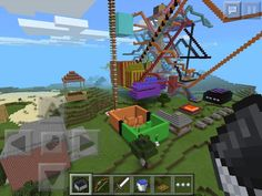 My amusement park plz comment and tell me what to build