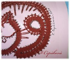 dokončení Bobbin Lace, Quilling, Weaving, Jewelry, Animales, Bedspreads, Bobbin Lacemaking, Jewlery, Jewerly