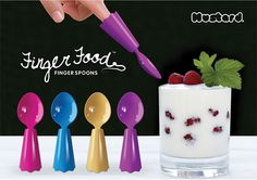 Finger Food Finger Spoons