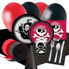 menaje y decoracin para una fiesta pirata en tableware