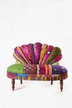 Bokja's peacock settee