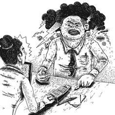 Marcio Moreno - Sesc Carmo #fridom #ilustração #art #marciomoreno
