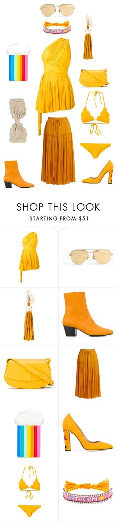 """Fashion stage"" by emmamegan-5678 ❤ liked on Polyvore featuring Dsquared2, Linda Farrow, See by Chloé, Dorateymur, Nico Giani, Apiece Apart, STELLA McCARTNEY, Paula Cademartori, Marysia Swim and Shourouk"