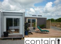 Shipping Container Homes: imaginit, Fifty5 Home - New Zealand - Extended Shipping Container Home