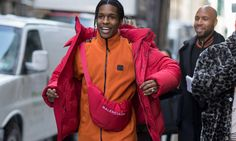 ASAP Rocky is one of the most influential fashion icons of his generation. Here's a rundown of some of his best style moments of all time. Cool Street Fashion, Street Style, Asap Rocky Fashion, Puffer Jackets, Winter Jackets, Pretty Flacko, Shirt Tucked In, Oversized Jacket, Winter Trends