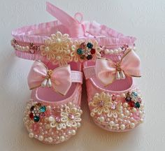 Baby Shoes and Headband!